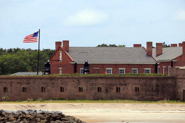 A view of fort clinch